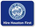 Hire Houston First Logo